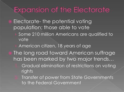 chapter 6 section 4 voter behavior chapter 6 voter behavior