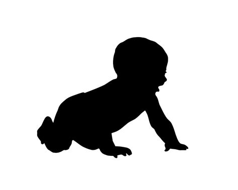 baby clip art silhouette image search results