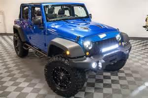 2016 jeep wrangler sport unlimited hydro blue wrangler