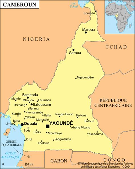 yaounde africa map cameroon map postcard cameroon map wallpaper cameroon