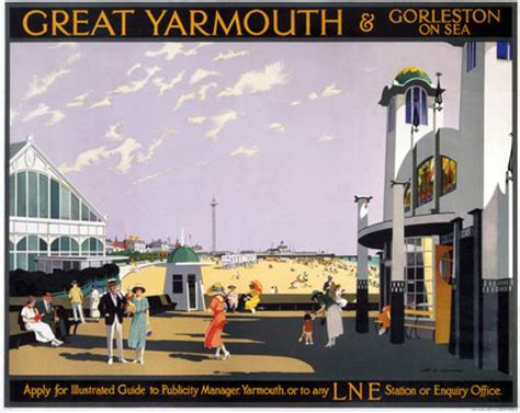 design engineer great yarmouth great yarmouth gorleston on sea lner poster 1935 by