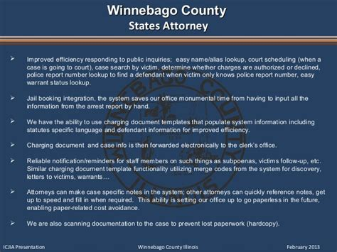 Winnebago County Court Records Il Court And Management Path To Excellence 02 06 13