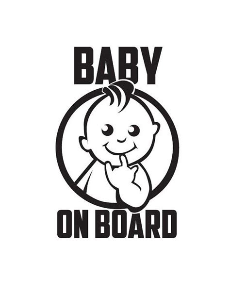 Baby On Board Sticker by Baby On Board Vinyl Stickers Stickers For Cars By