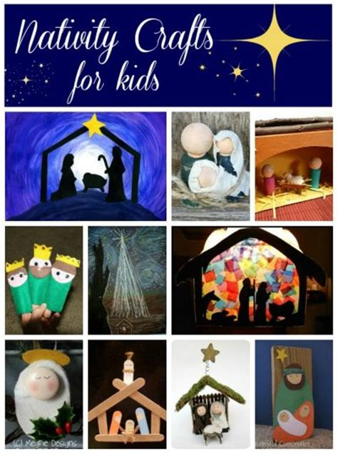 20 nativity crafts for family crafts