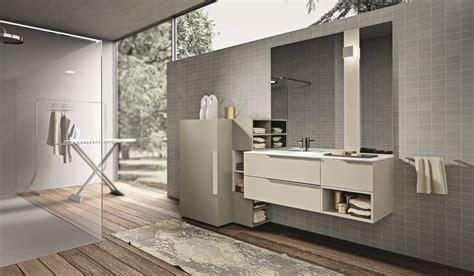 arredo bagno con lavatrice composizione di mobili da bagno con porta lavatrice