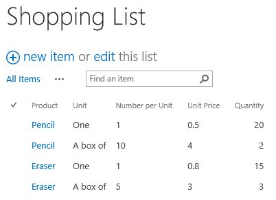 how to calculate lookup column in sharepoint list