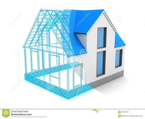 house design process stock photo image 81064761