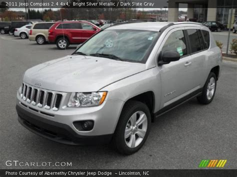 silver jeep compass bright silver metallic 2011 jeep compass 2 4 4x4