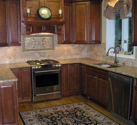 kitchen with backsplash who s afraid of pink beige interiors for families