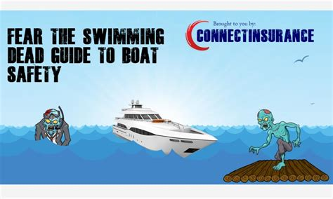 boat safety guide fear the swimming dead guide to boat safety connect