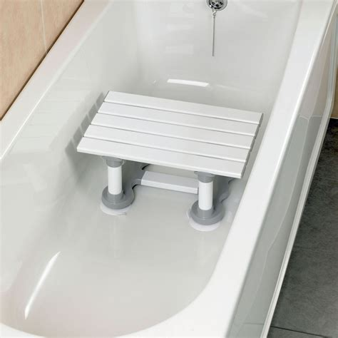 shower seat height savanah slatted bath seat height 305mm 12 quot weight 3