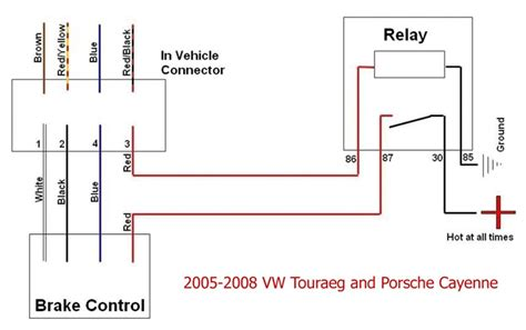 impulse trailer brake controller wiring diagram diagram for brake controller installation on a 2006