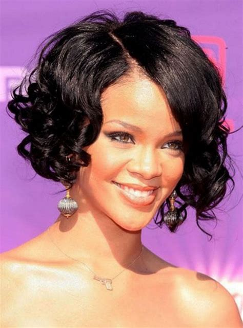 hairstyles for short curly hair pinterest short bob hairstyles black women wavy nice curly bob