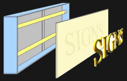 Outdoor Lighted Sign Box New Sided 5x8 Lighted Outdoor Outdoor Light Box Signs