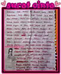 contoh surat cinta paling romantis mengharukan terbaru