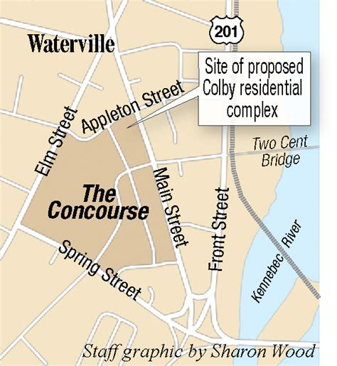 colby college floor plans waterville planning board to consider final plans for 25
