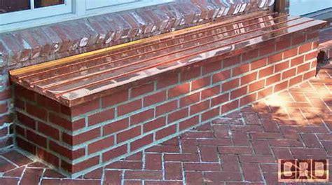 how to make a brick bench cbd s yocum custom brick wood copper page
