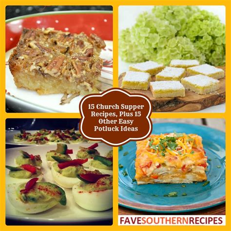 potluck dishes ideas 15 church supper recipes plus 15 other easy potluck ideas