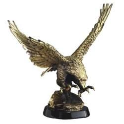 large gold eagle statue ae1000 ae2000 free shipping