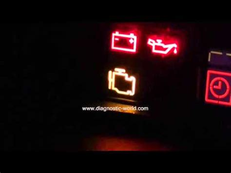 volvo engine management warning light need to diagnose