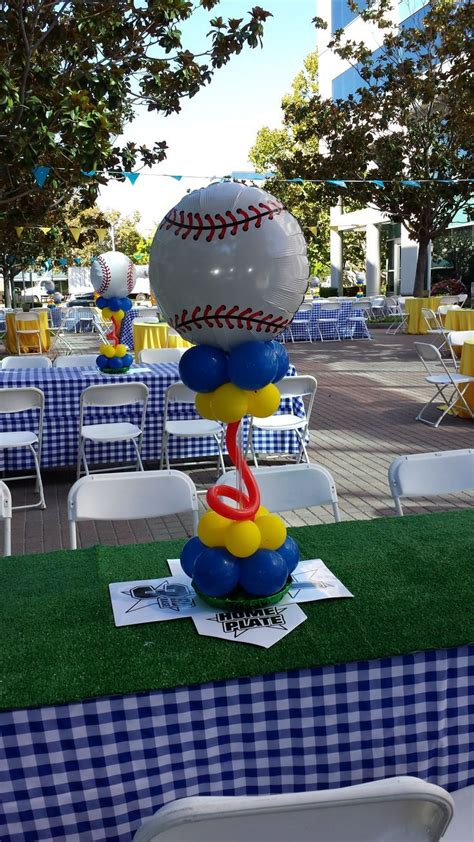 sports themed balloon decor 1000 images about balloons sports theme on