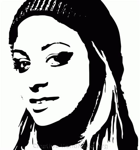 stencils of famous faces www people stencil www imgkid com the image kid has it