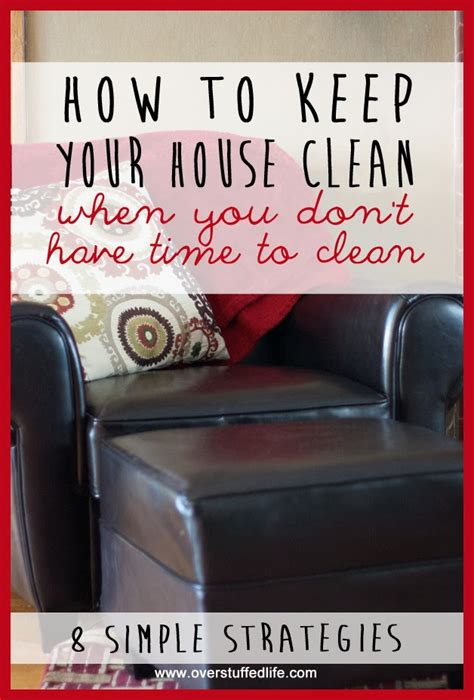 how to keep the house clean weekend wandering living well spending less 174