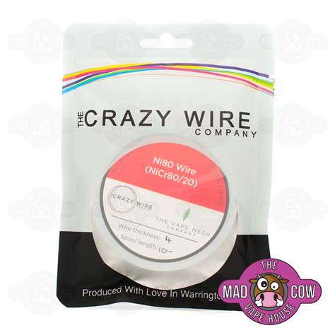Tetra Wire Authenthic Nichrome 80 Ni80 1 Meter 24 10m ni80 nichrome wire the mad cow vape house
