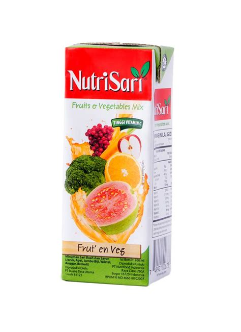 Kompor Listrik Klorofil nutrisari juice drink fruit vegetable tpk 200ml