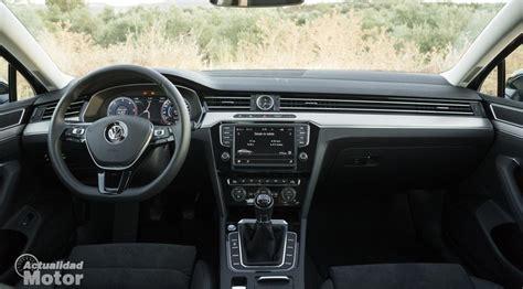 volkswagen passat 2015 interior prueba volkswagen passat 2 0 tdi 150 cv