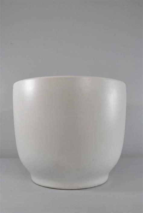 Modern Ceramic Planters by Large Mid Century Modern Pair Of Gainey Ceramic