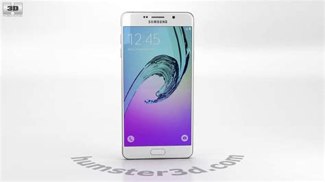 3d Samsung A7 2016 samsung galaxy a7 2016 white 3d model by humster3d