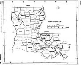 louisiana map blank louisiana free map