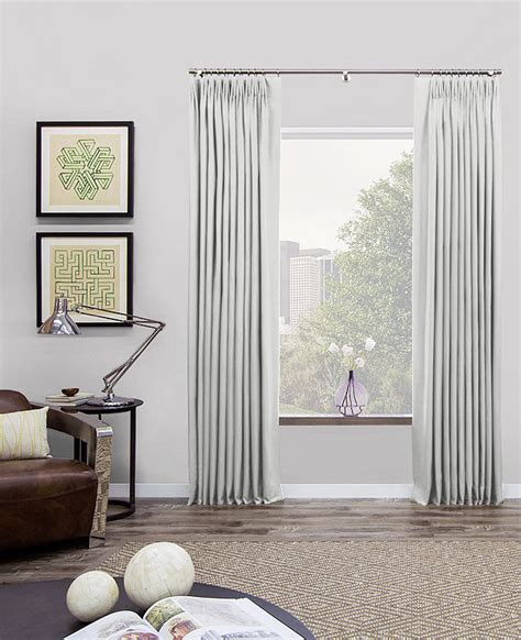 tailored pleat drapery tailored pleat drapery tailored curtains the shade store