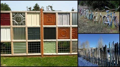 Diy Backyard Patio Nine Ingenious Recycled Fence Ideas Diy Re Purposed Ideas