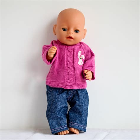 Baby Born Wardrobe For Dolls by New Fashion Doll Accessories 1set Sweater Doll