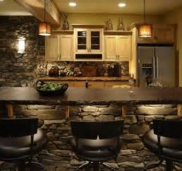 Basement Kitchen Bar