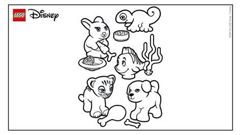 Ameli Syari lego disney princess coloring pages coloring page