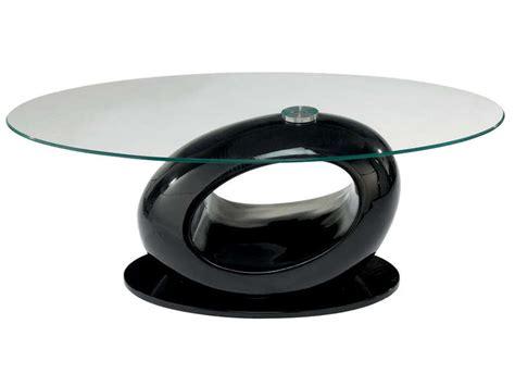 Table De Salon Conforama 2224 by Table Basse Egg Coloris Noir Vente De Table Basse