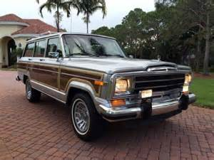1991 Jeep Grand Wagoneer For Sale 1991 Jeep Grand Wagoneer Year Leather 4wd Woody
