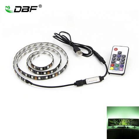 Dbf Usb Rgb Led Strip 5050 Flexible Adhesive Tape Multi Adhesive Led Lighting Kit