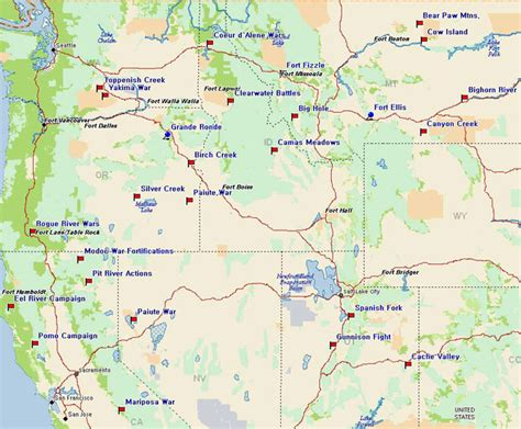 road map northwest usa northwest map of usa states pictures to pin on