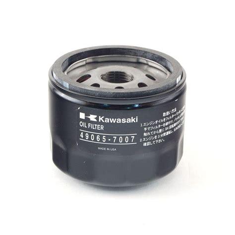 Kawasaki Filter Cross Reference by Filter For Kawasaki 22 24 Hp Engines 490 201 M007