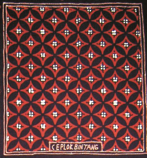 Batik Motif Bintang contoh motif batik batik indah rara djonggrang