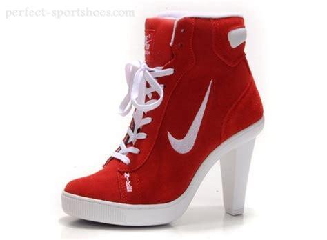 nike high heels fashion nike 2012 heels dunk high womens shoes white