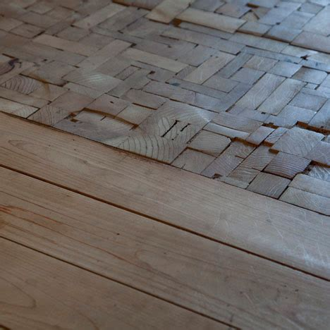 Japanese Floor by Patchwork Wooden Bedroom Floor Is A Ceiling In Disguise
