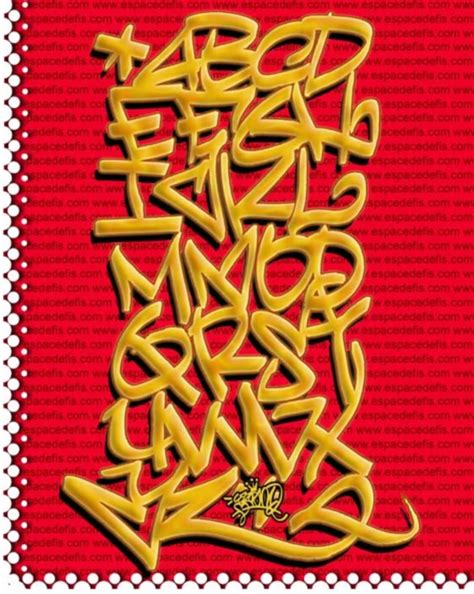abjad graffiti alphabet   clip art