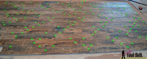 random pattern wood look tile how to install wood tile barnwood her tool belt