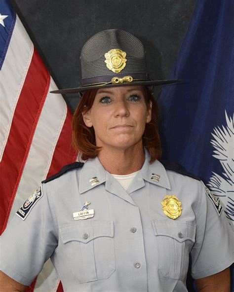 What Is In Law Unit S C Highway Patrol Promotes First Female Captain Will