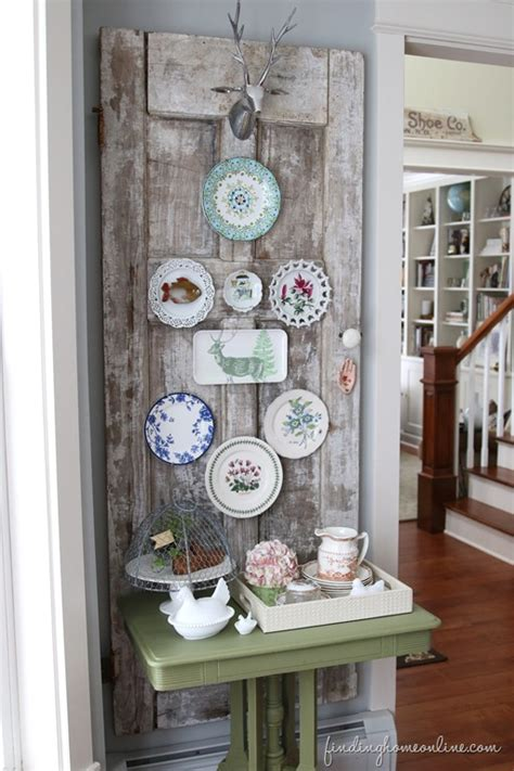 pictures of wall decorating ideas decorating ideas vintage door plate wall finding home farms